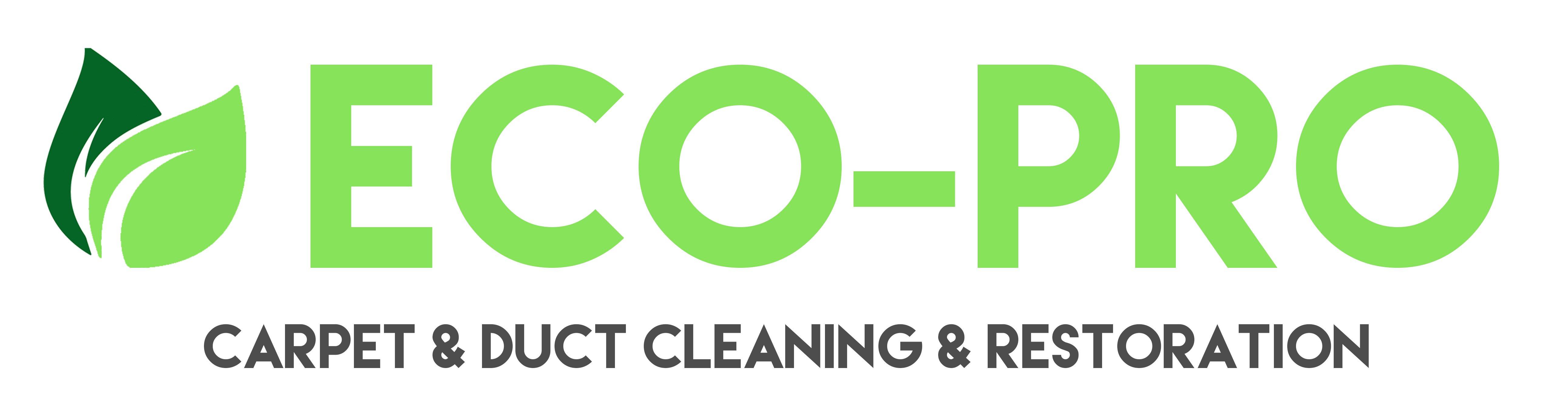 ECO PRO Carpet and duct cleaning and restoration